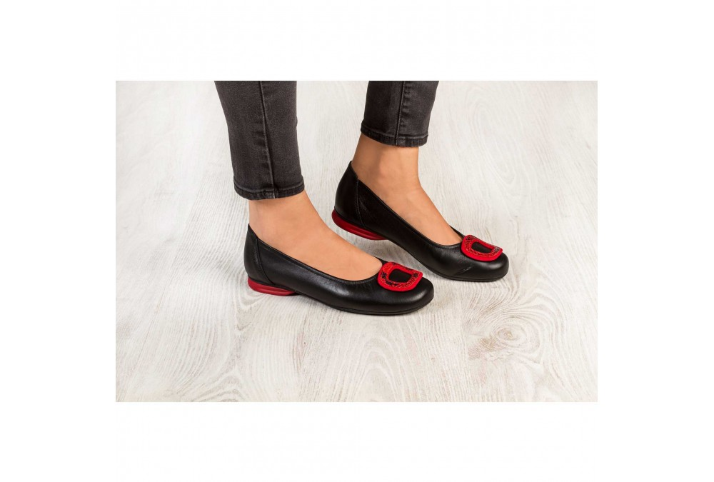 CITY 80057 FLORIDA NEGRO COLOR/ADOR ROJO,