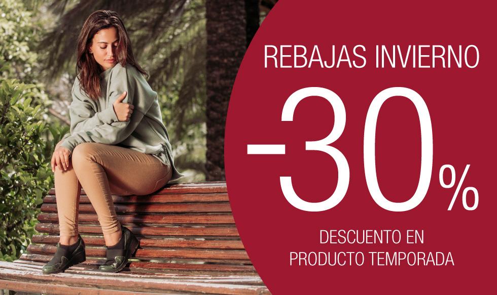 Rebajas Sabrinas – Benefíciate de descuentos del 30% en toda la colección de Invierno